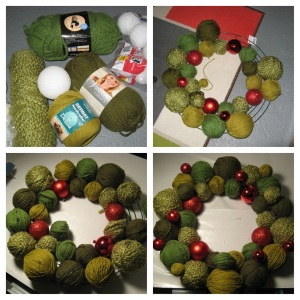 Yarn Wreath 2