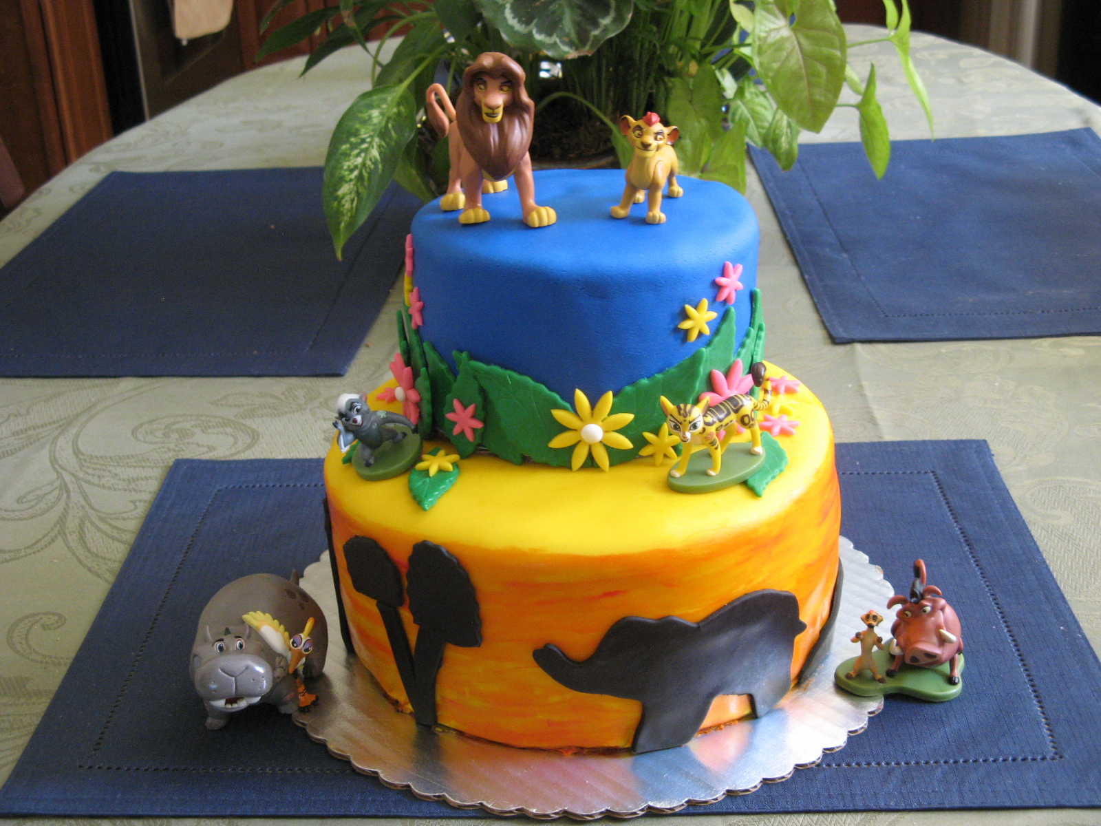 Lion Guard Birthday Cake Ideas Image Inspiration of Cake and
