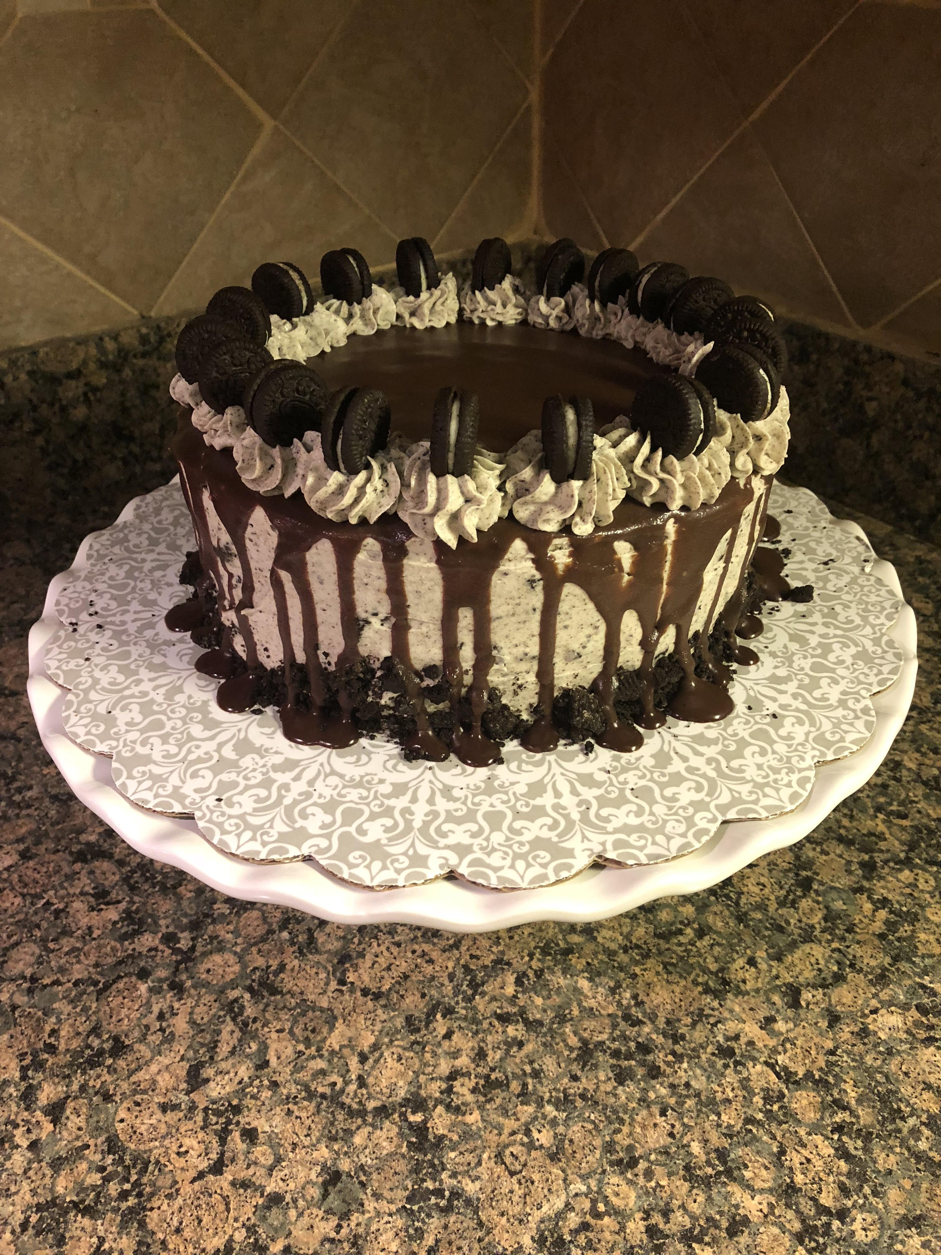 Fantastic Cookies And Cream Cake Bead Yarn Spatula Funny Birthday Cards Online Hendilapandamsfinfo