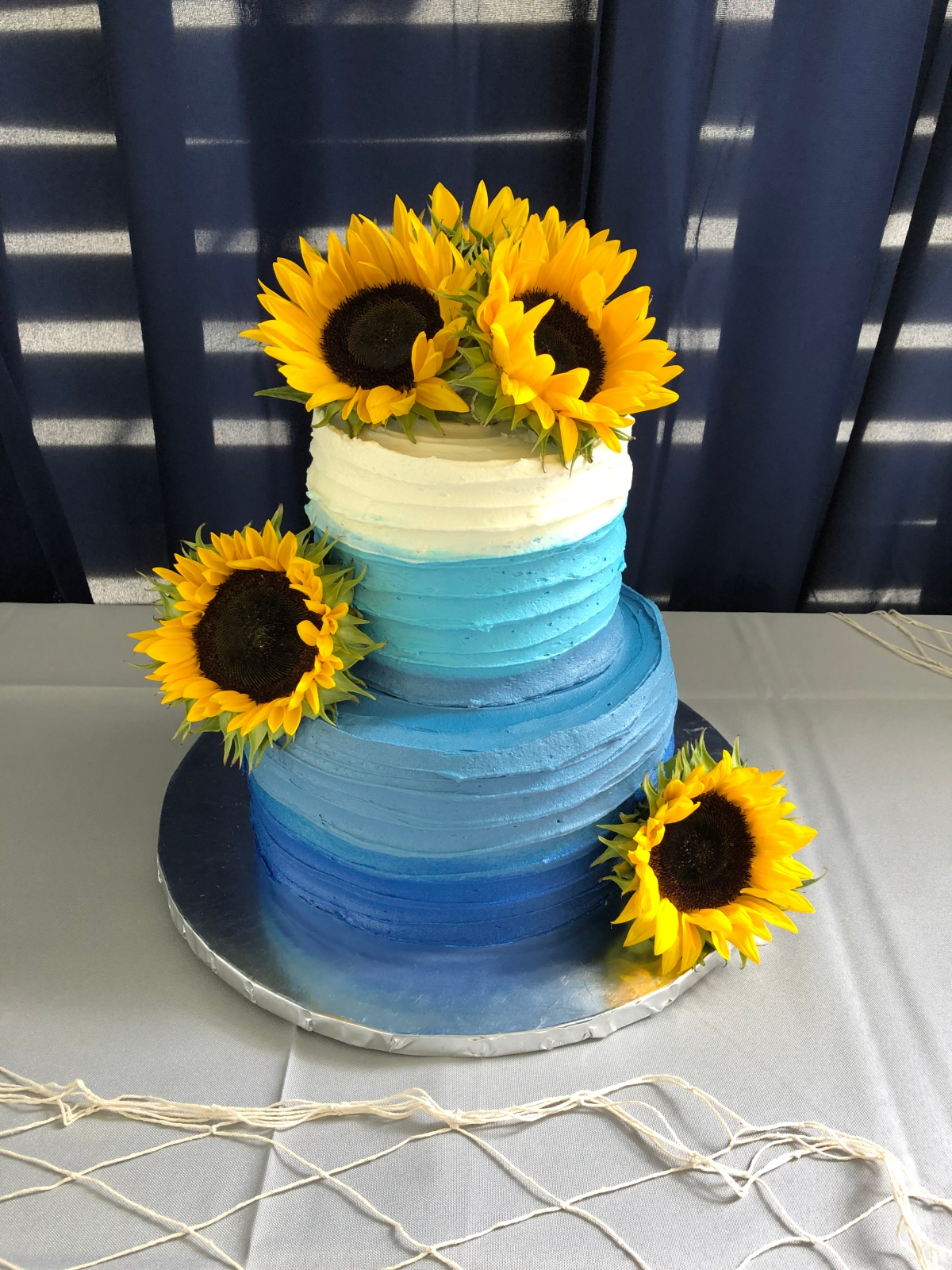 An Ombre Cake, the Fall and A Few OtherThings